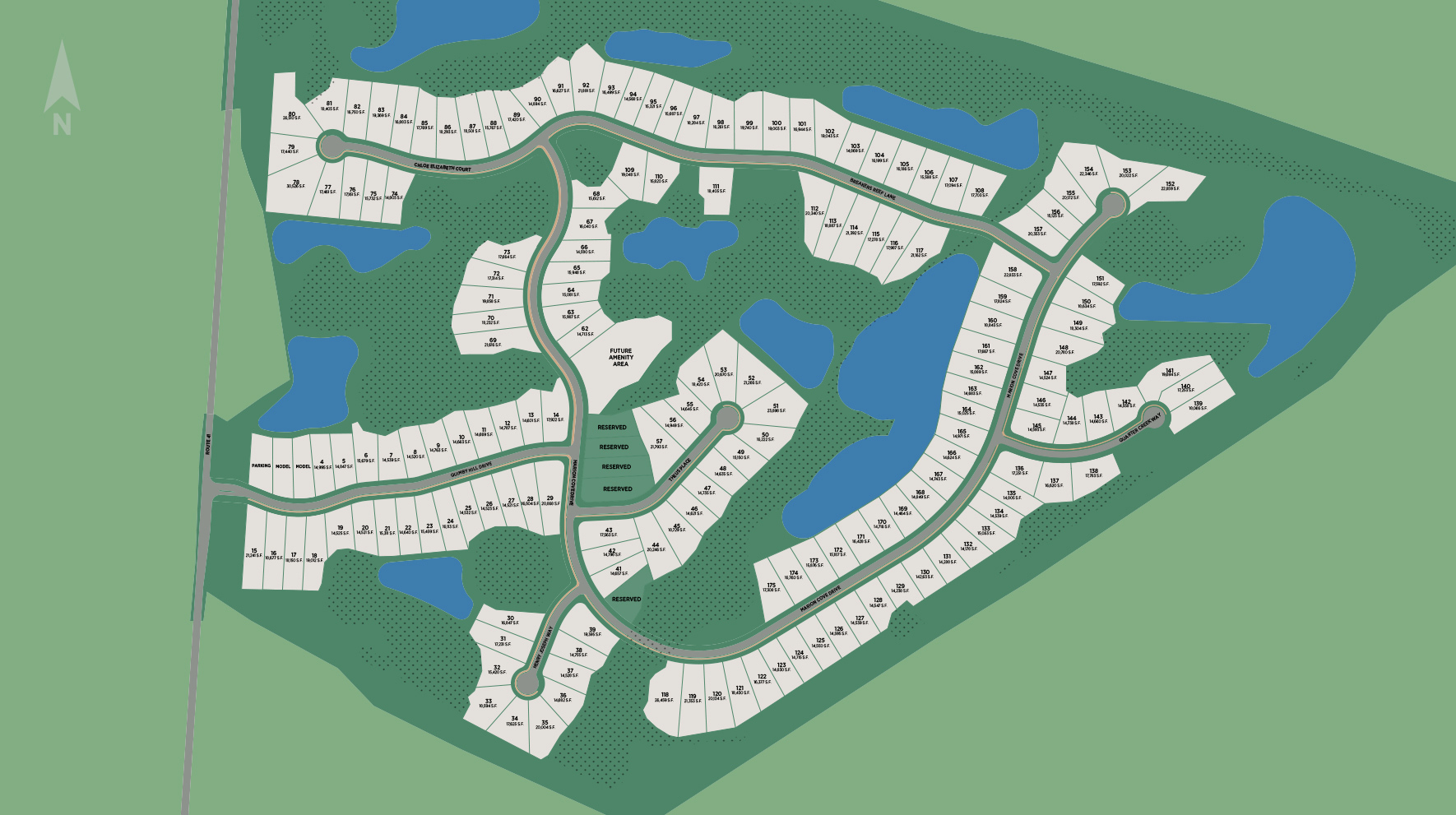 Forest Edge by Toll Brothers Site Plan
