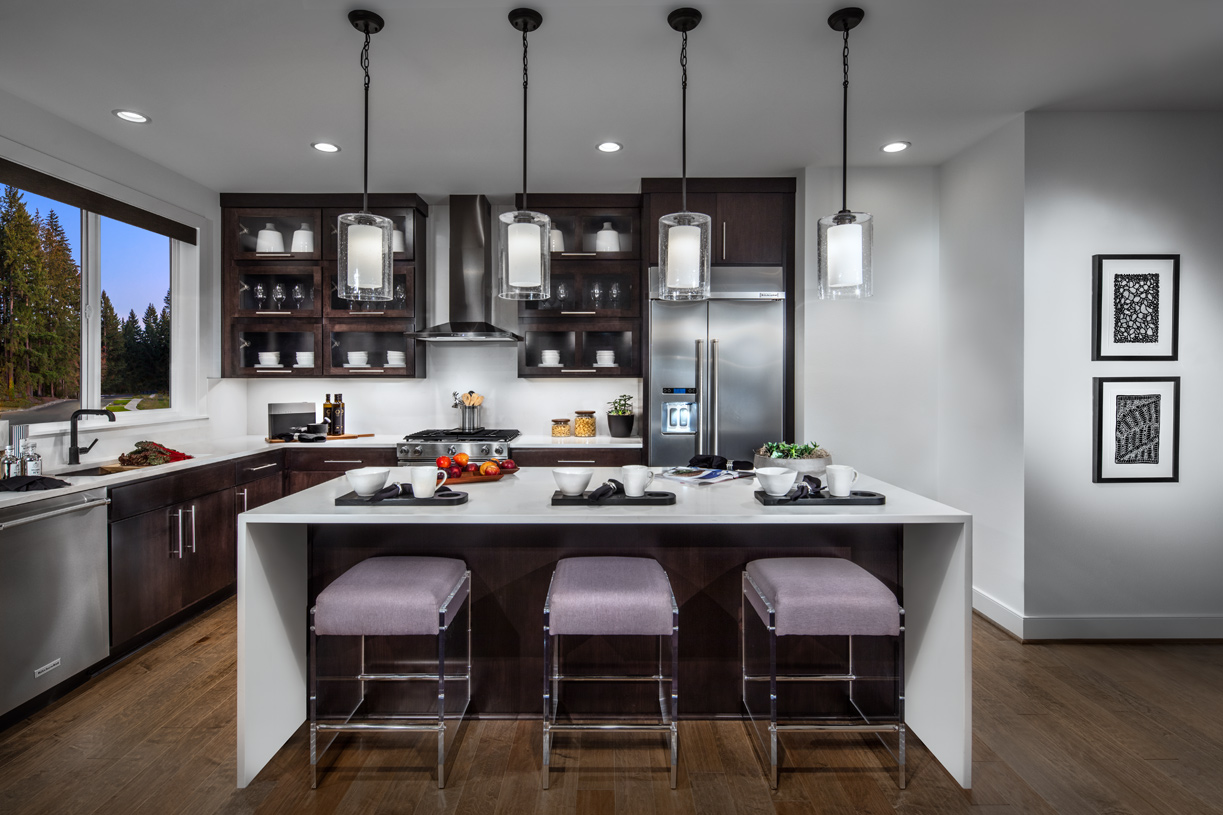 Well-designed kitchen offers plenty of countertop space