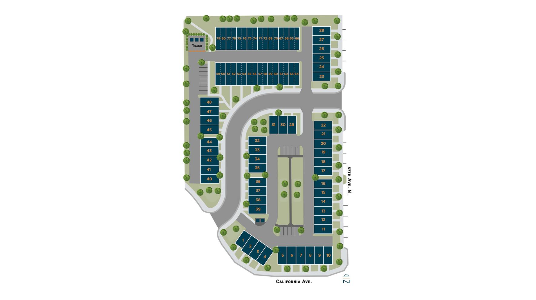 Edison Park Site Plan