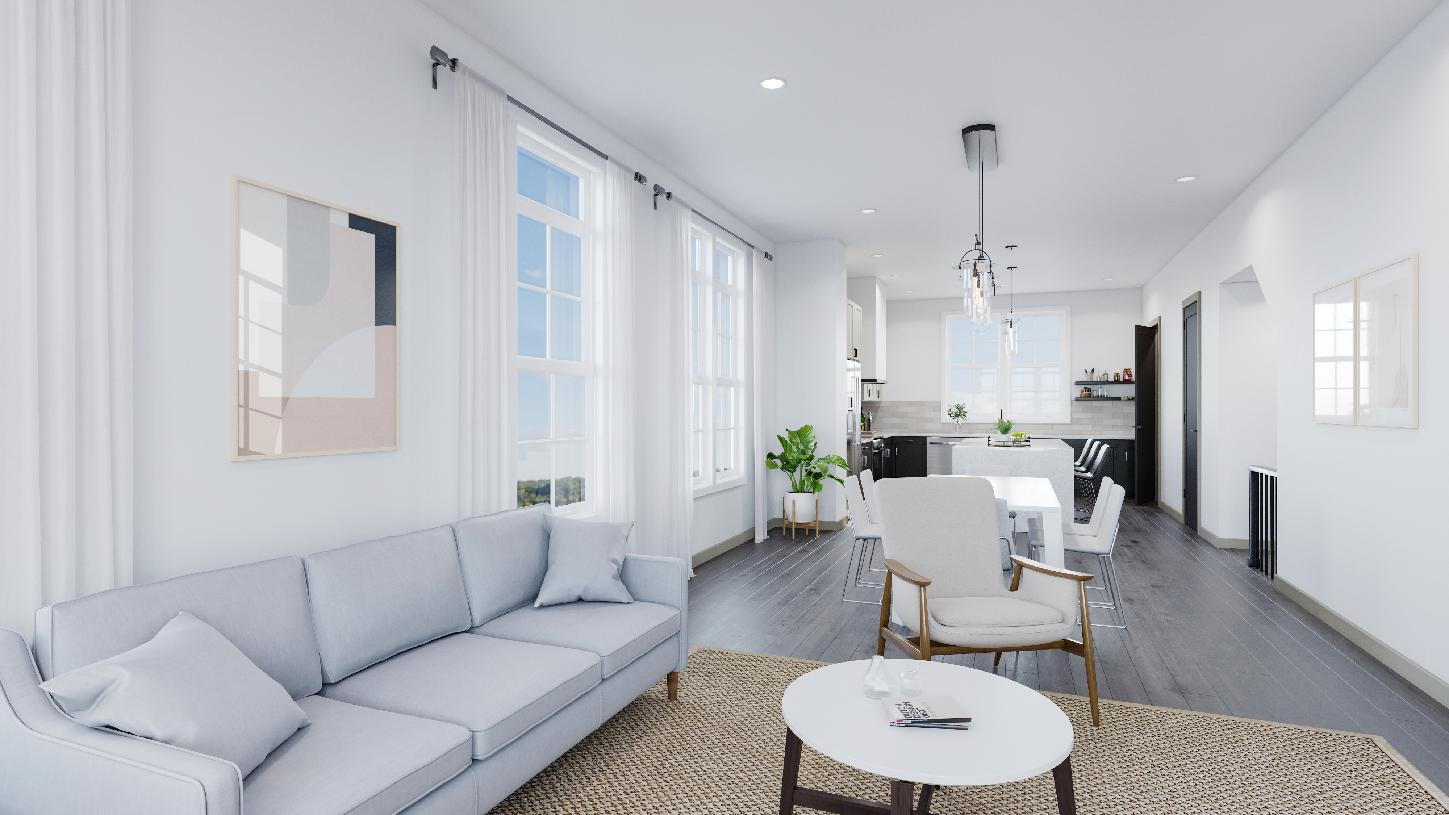 Inviting living room