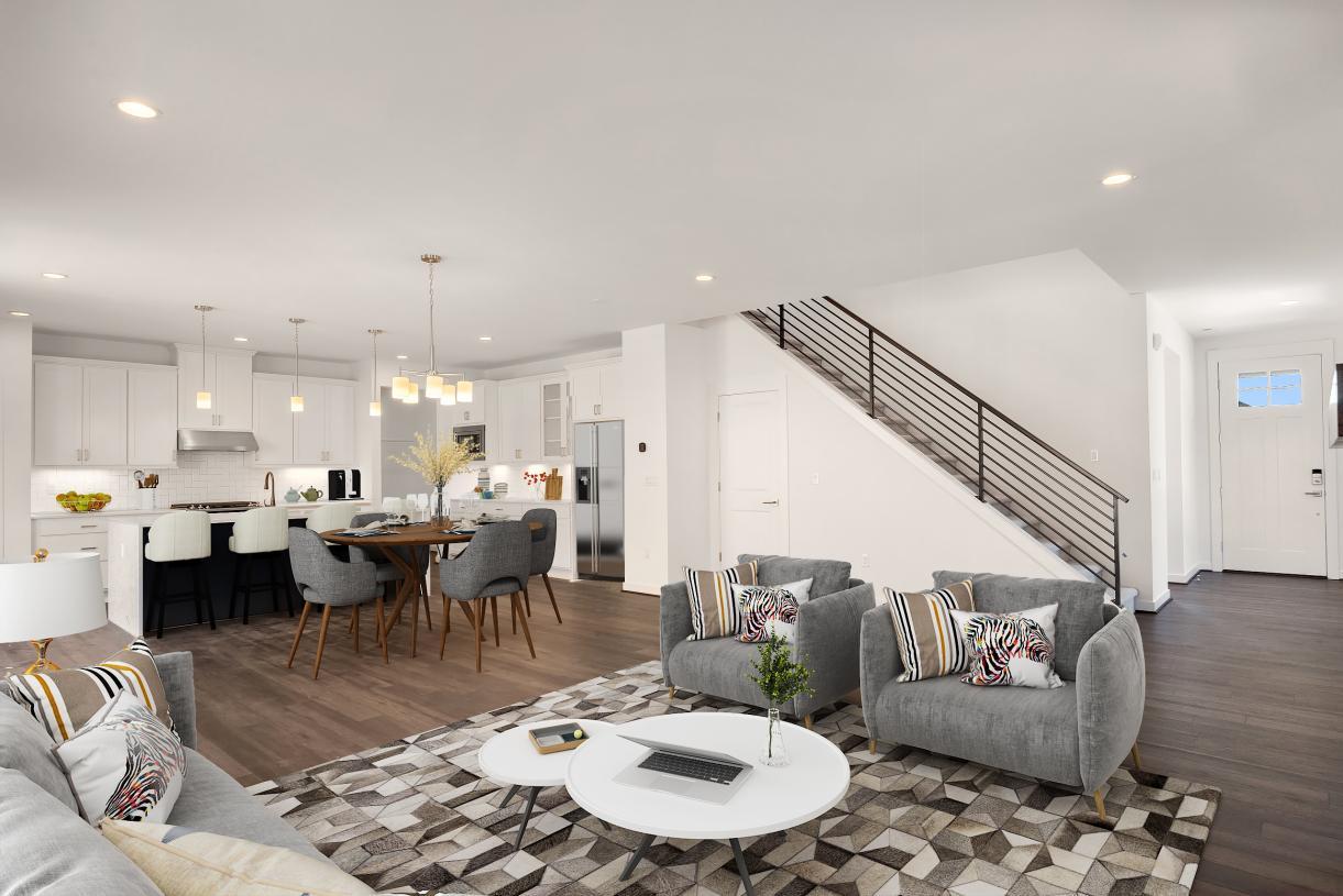 Representative photo - Open-concept floor plan is ideal for entertaining