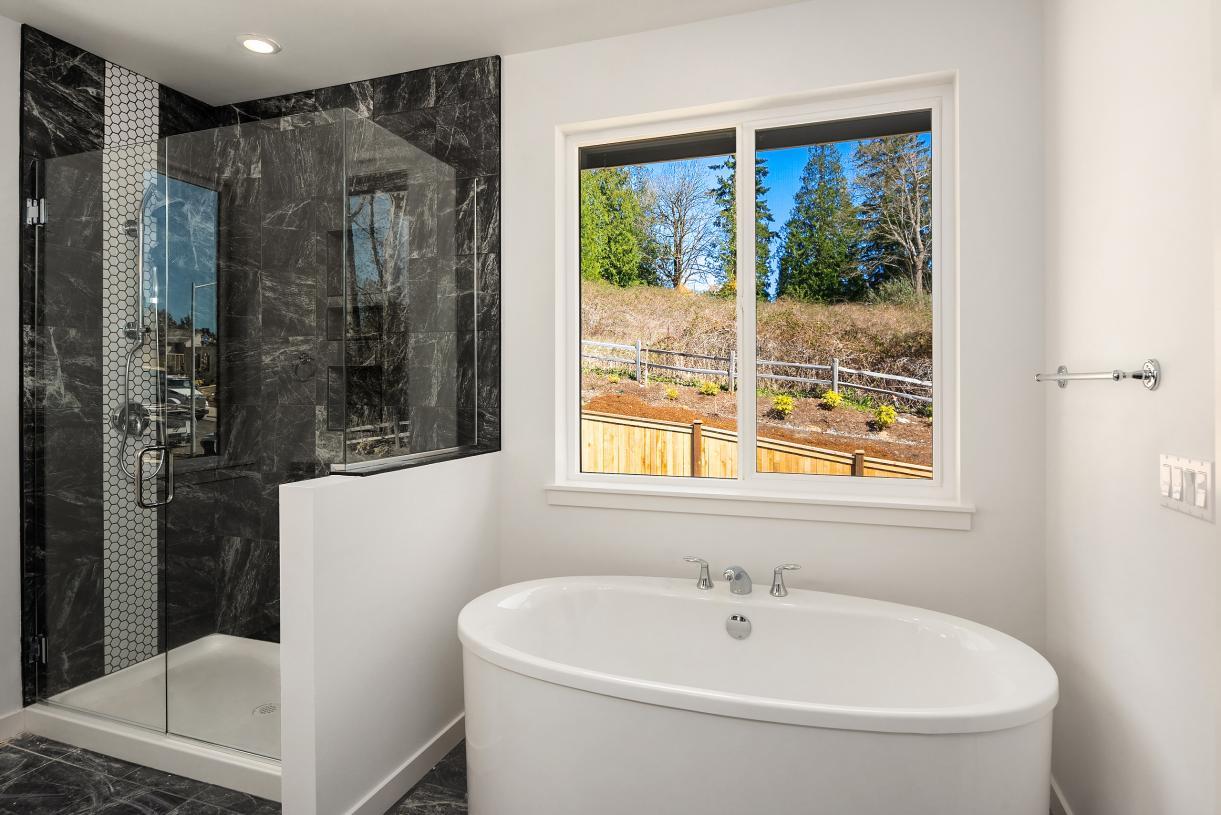 Representative photo - Luxe primary bath with dual-sink vanity
