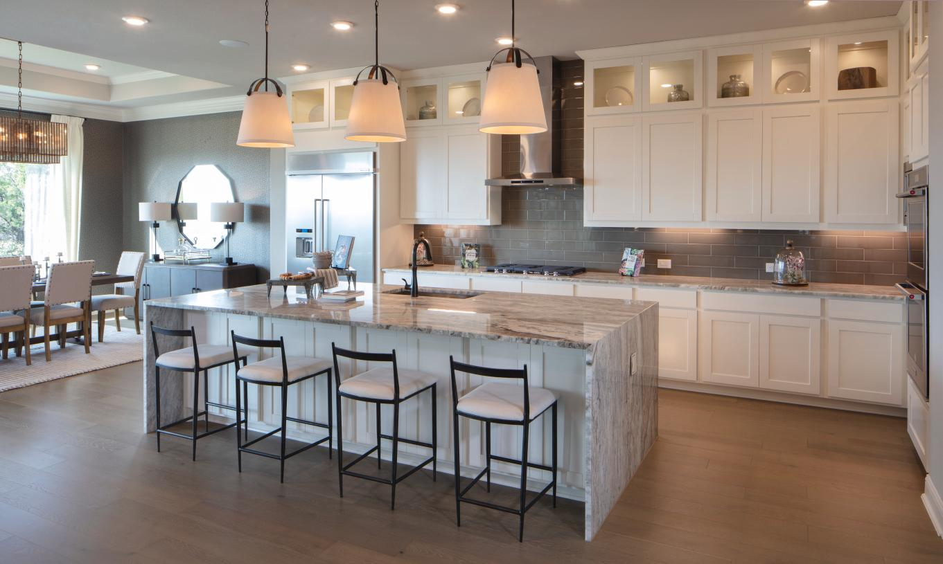 Vanguard kitchen with ample counter space