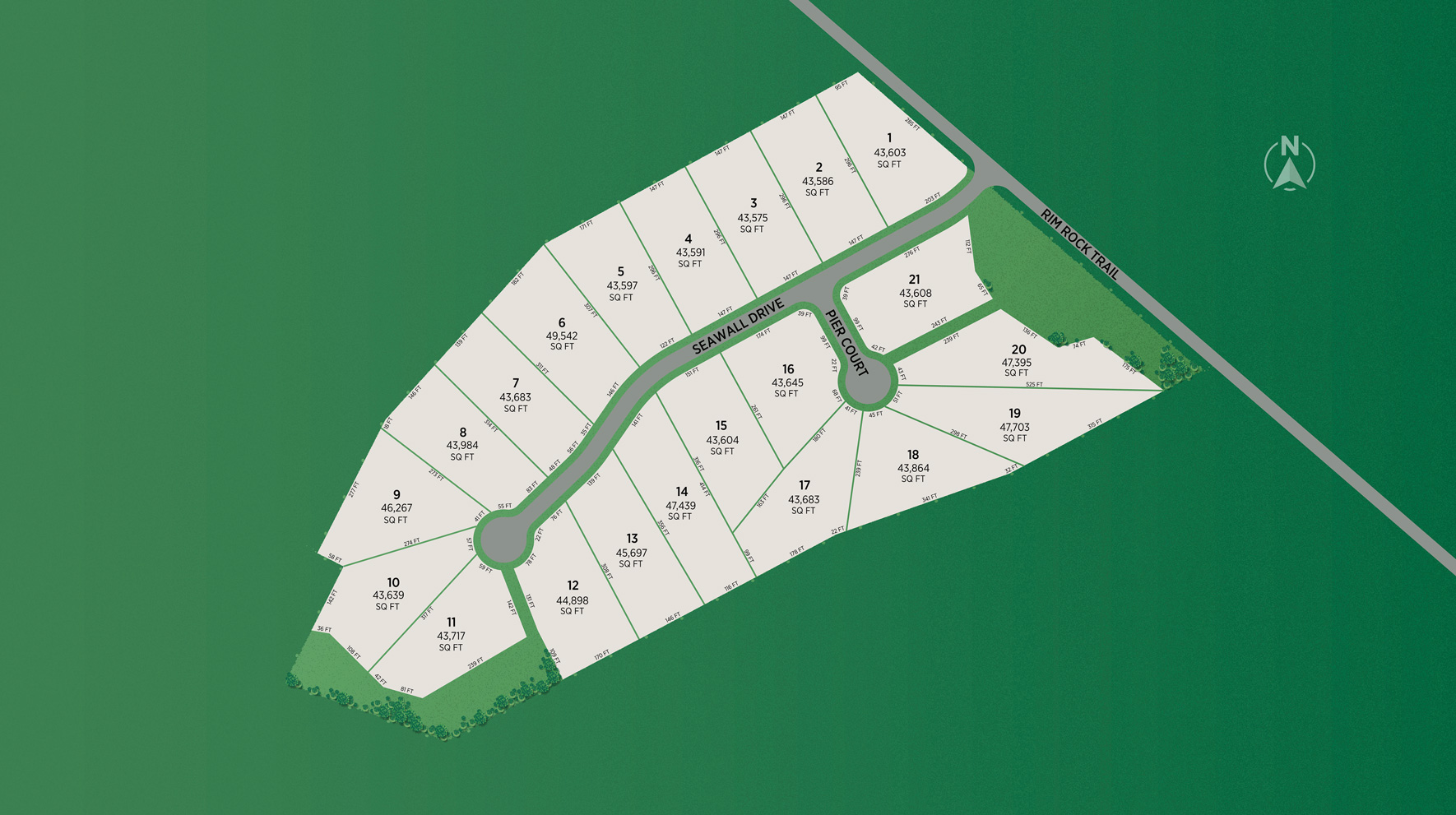 Breakwater by Toll Brothers Site Plan