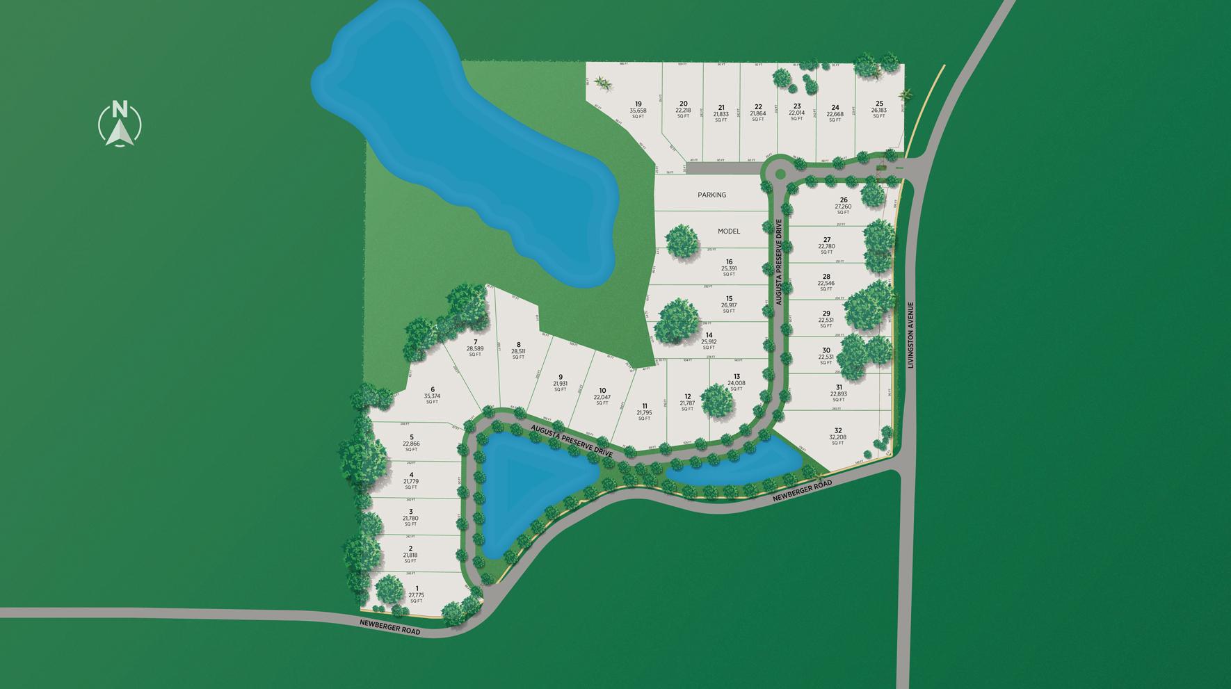 Livingston Grove Site Plan
