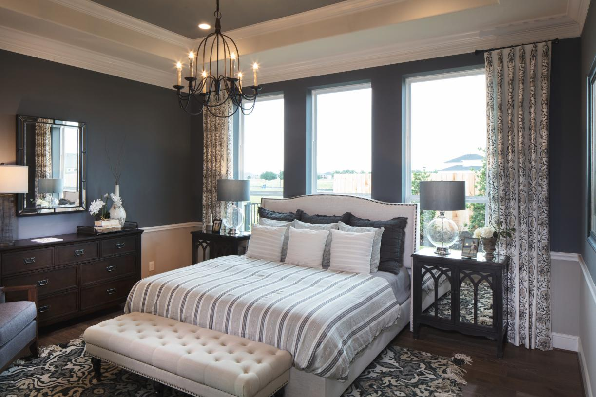 Spacious primary suites offer a tranquil retreat