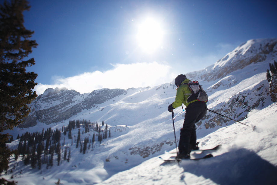 Skiing at Crystal Mountain or The Summit at Snoqualmie Ridge is only one hour away