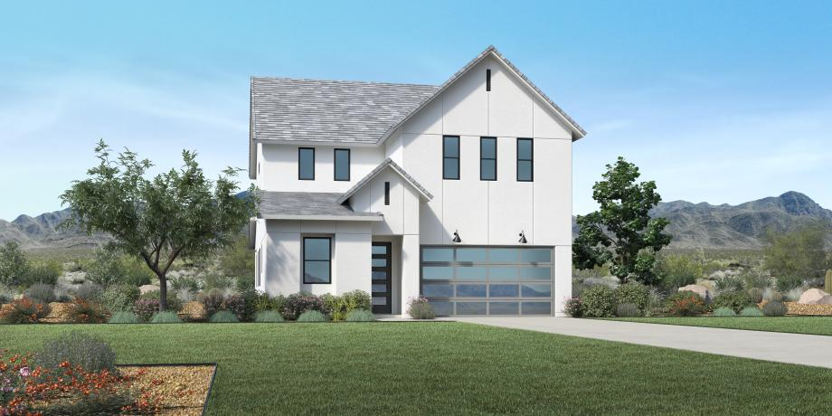 Toll Brothers - Peletier Contemporary Farmhouse Photo