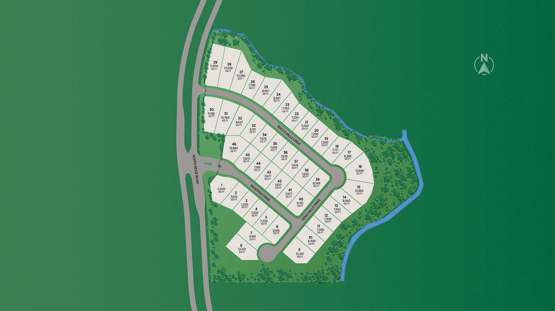 Paradiso Valle Site Plan