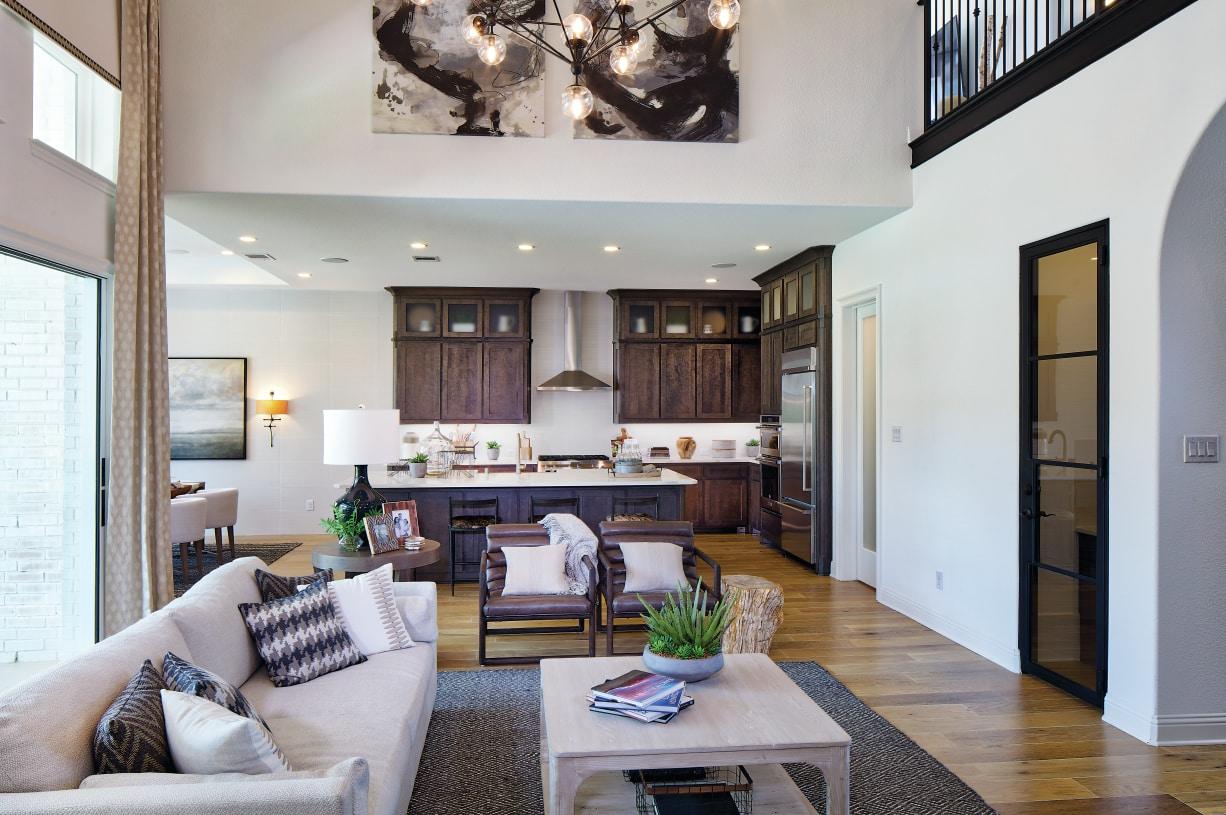 Open-concept home design