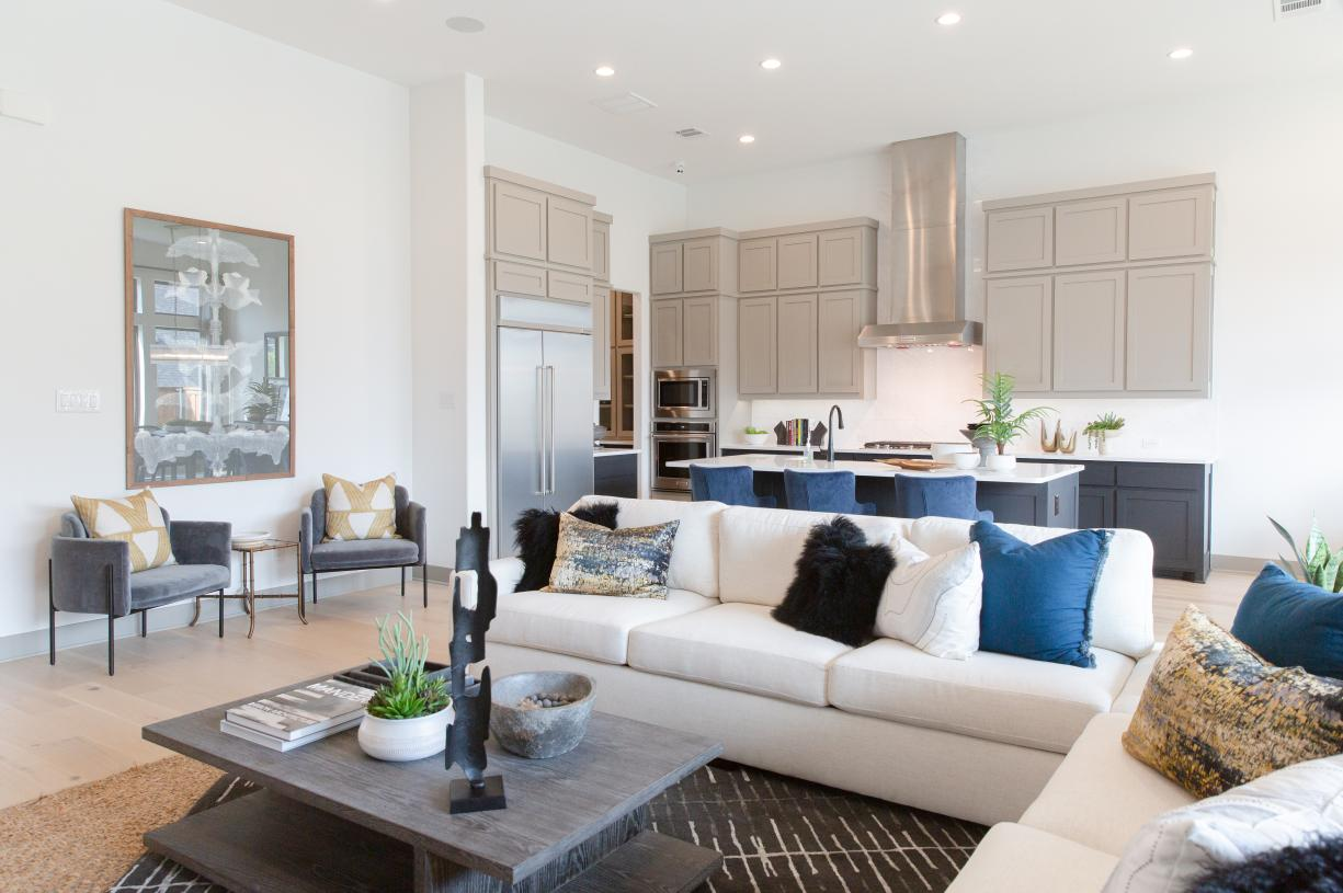 Bright and open living plan