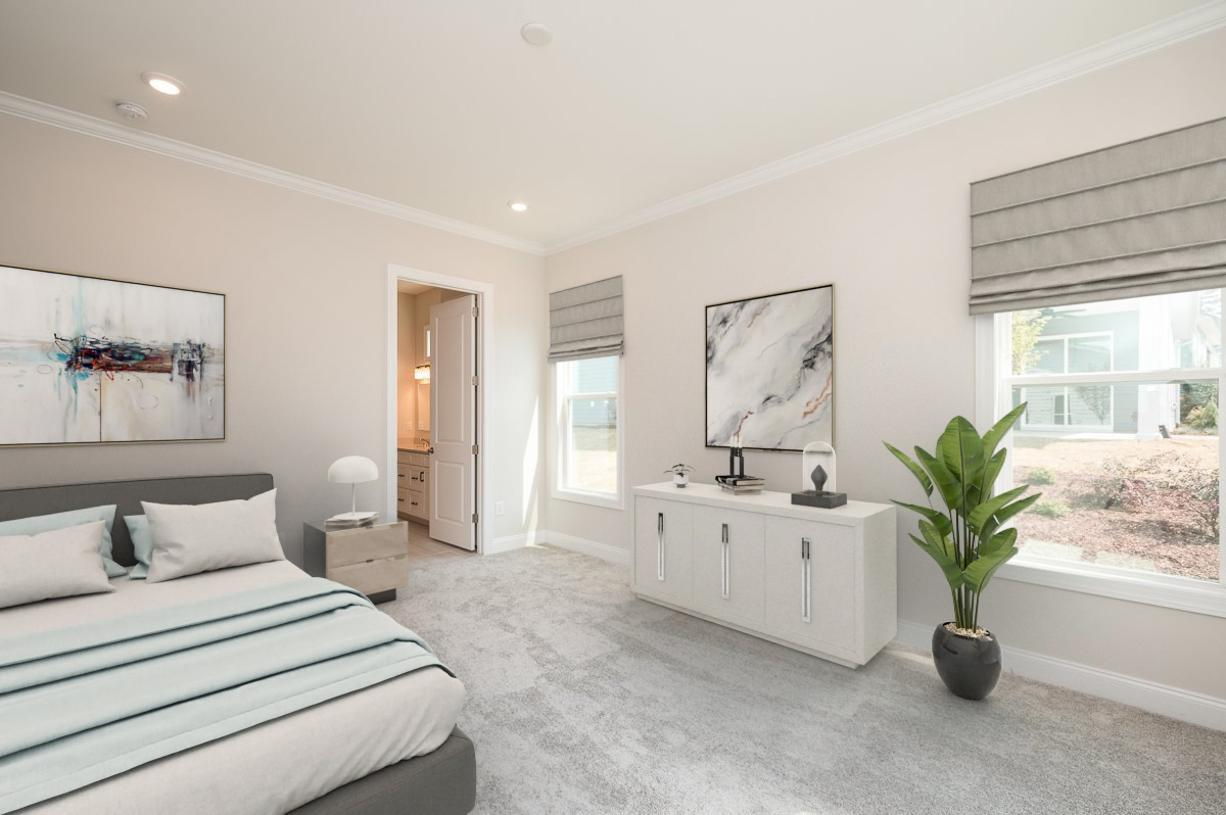 Discover the ultimate comfort in the primary bedroom