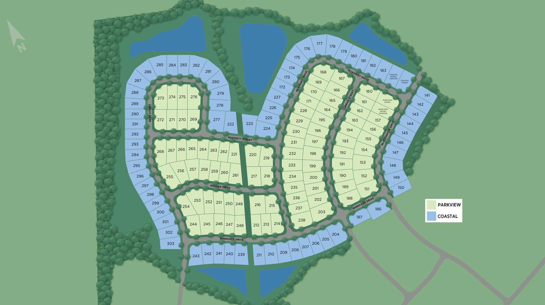 Longwood Bluffs - Site Plan