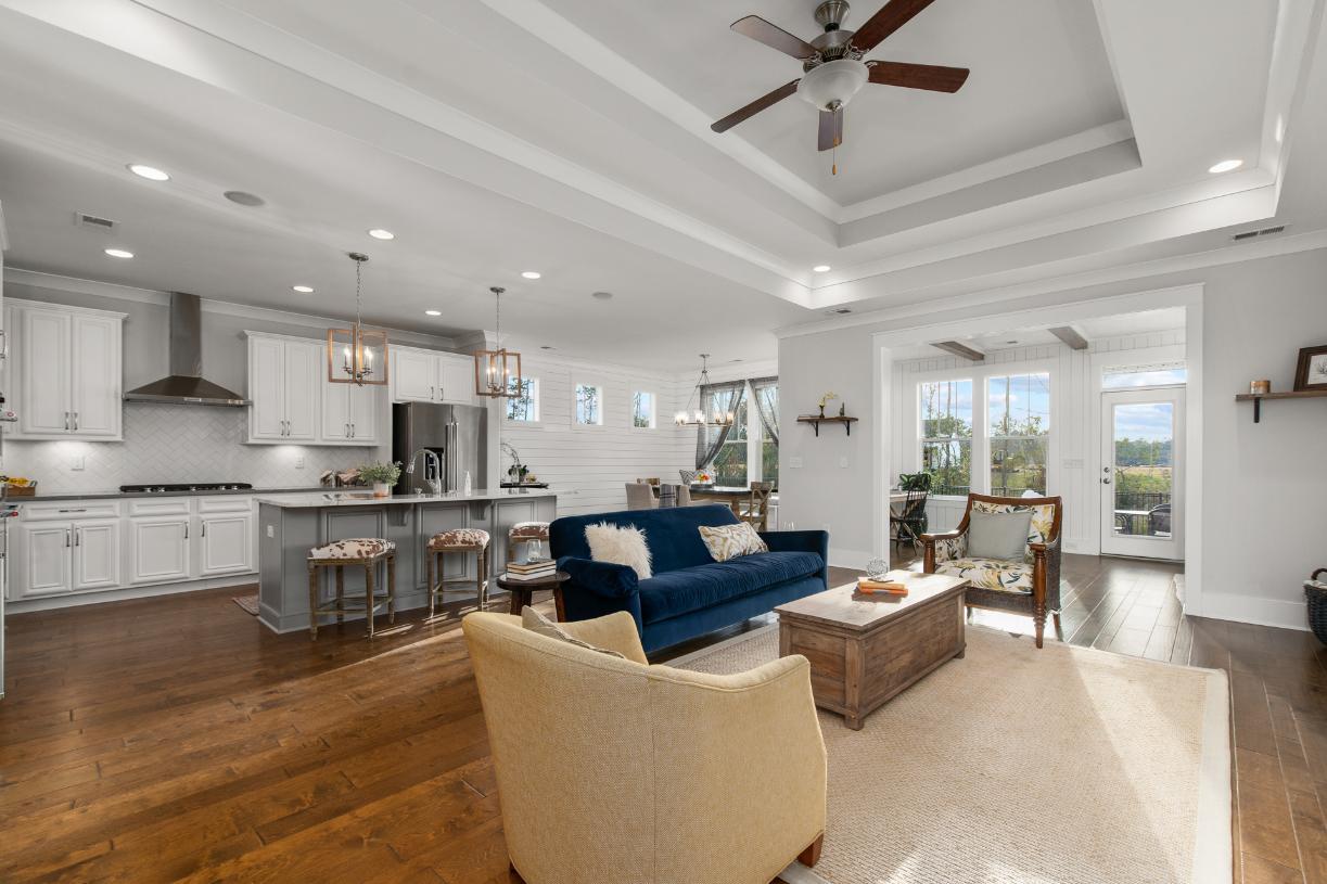 Spacious open concept floor plans ideal for entertaining
