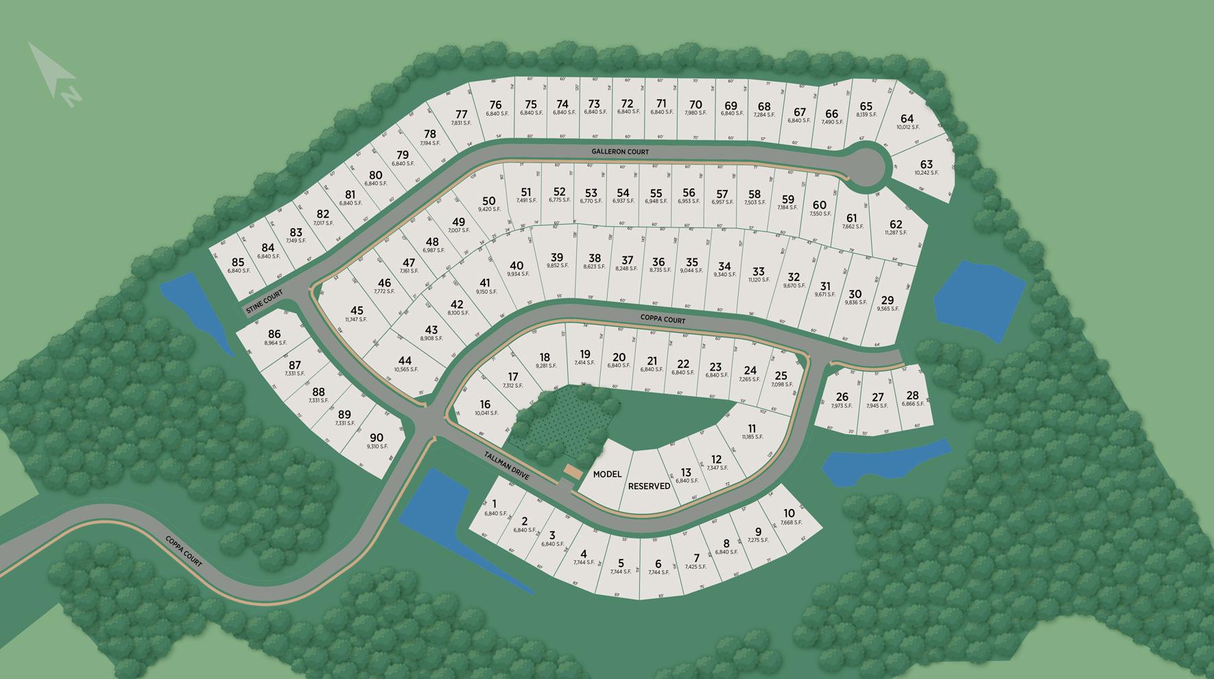 Parklynn Hills Site Plan