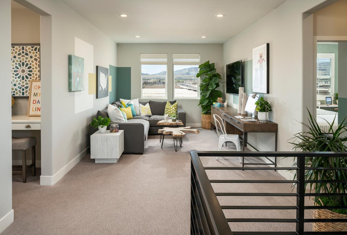 Desirable loft central to upstairs bedrooms