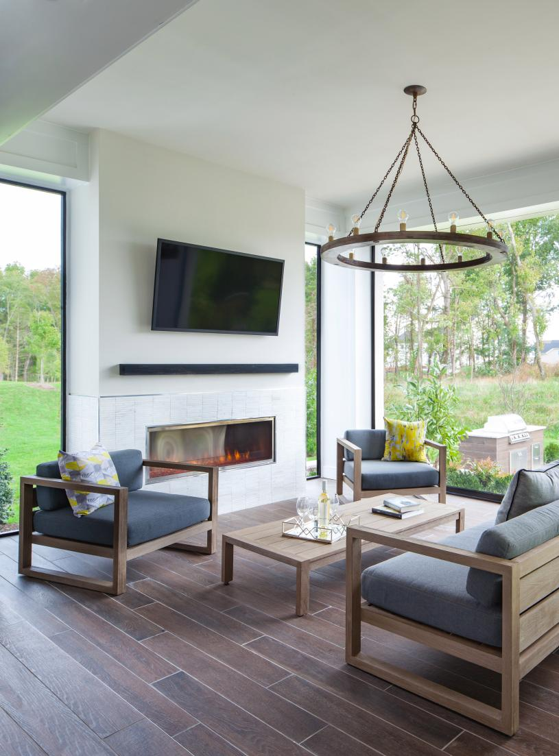 Amazing outdoor living spaces