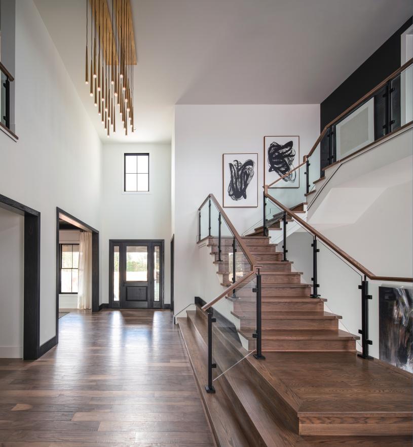 Impressive entry foyers