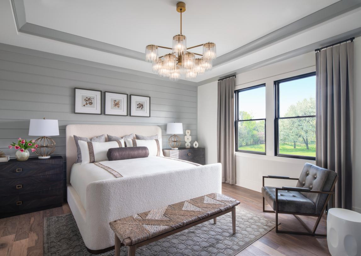 Spacious secondary bedrooms including main-floor guest suites