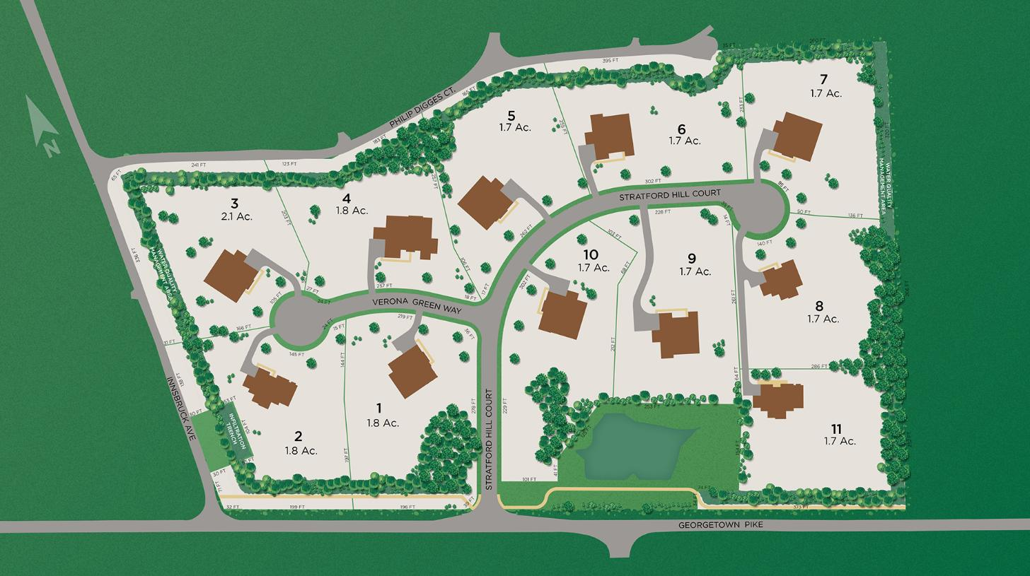Hayden at Great Falls Site Plan