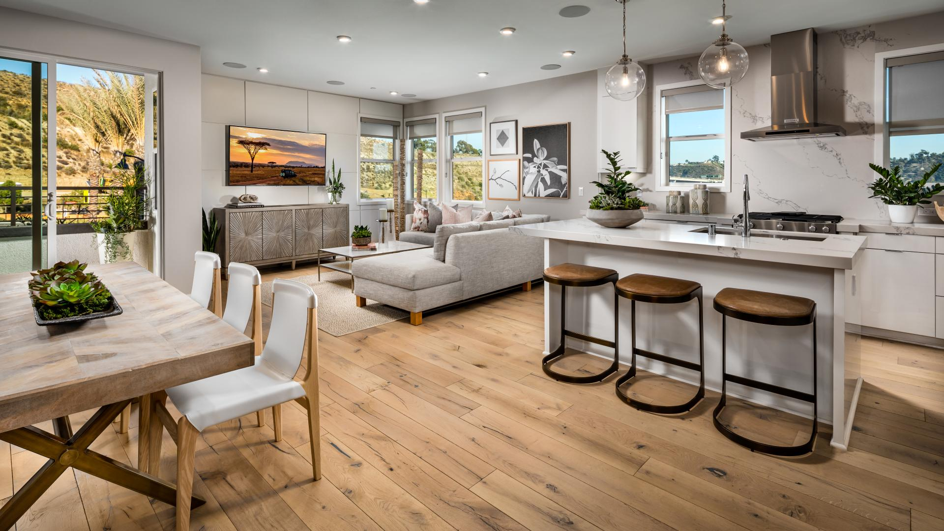 Open-concept home designs with plenty of room for entertaining