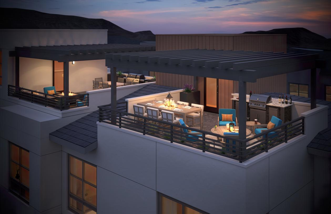 Desirable rooftop deck options