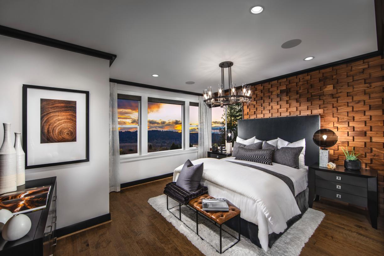 Luxurious primary bedroom suites for relaxation