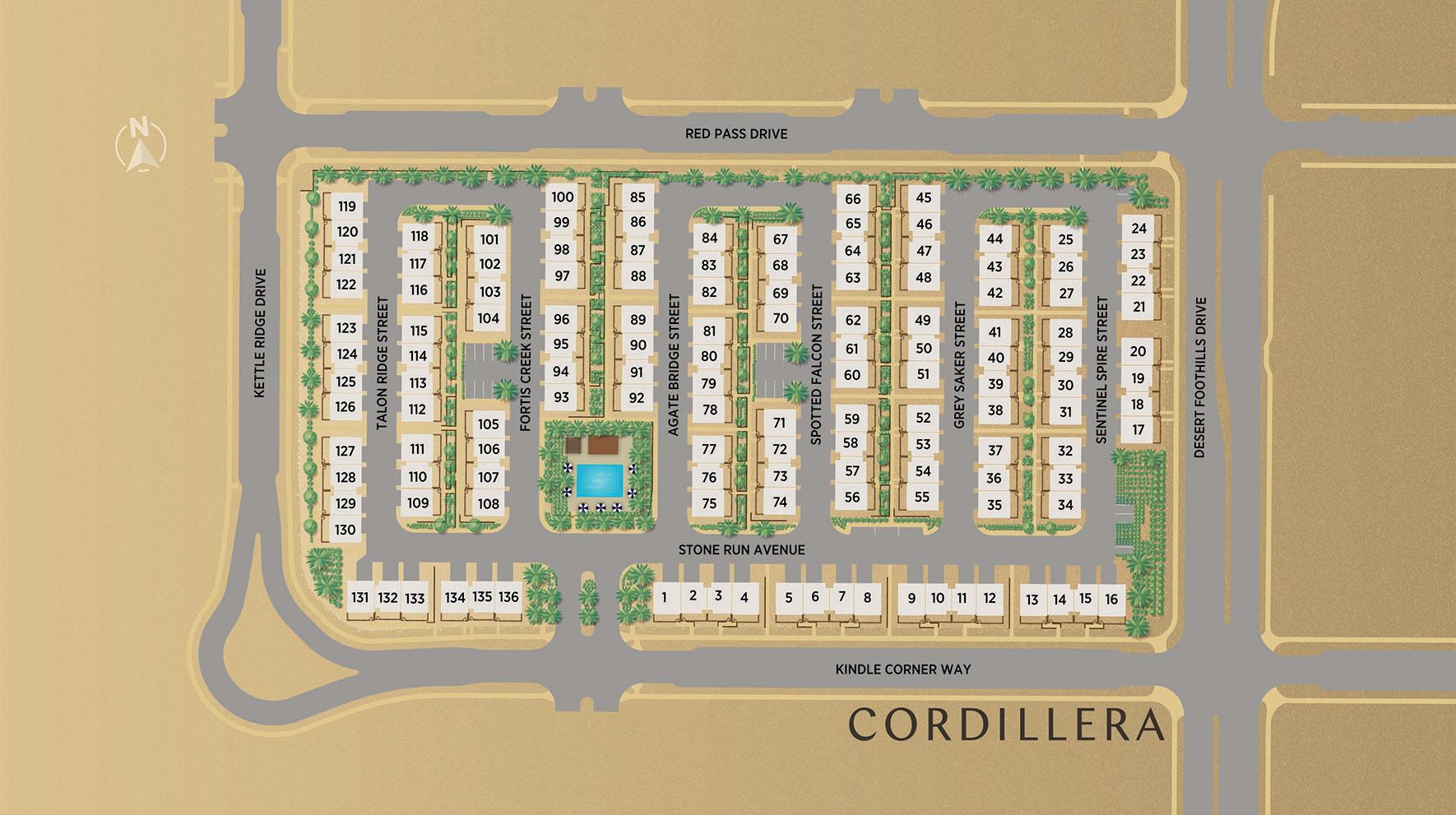 Cordillera Site Plan