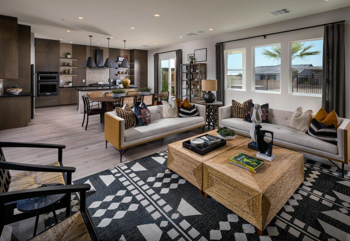Spacious floor plan perfect for entertaining