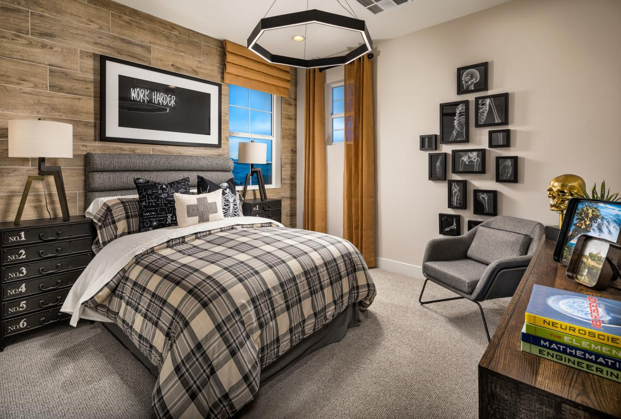 Generous secondary bedroom with sizable closet