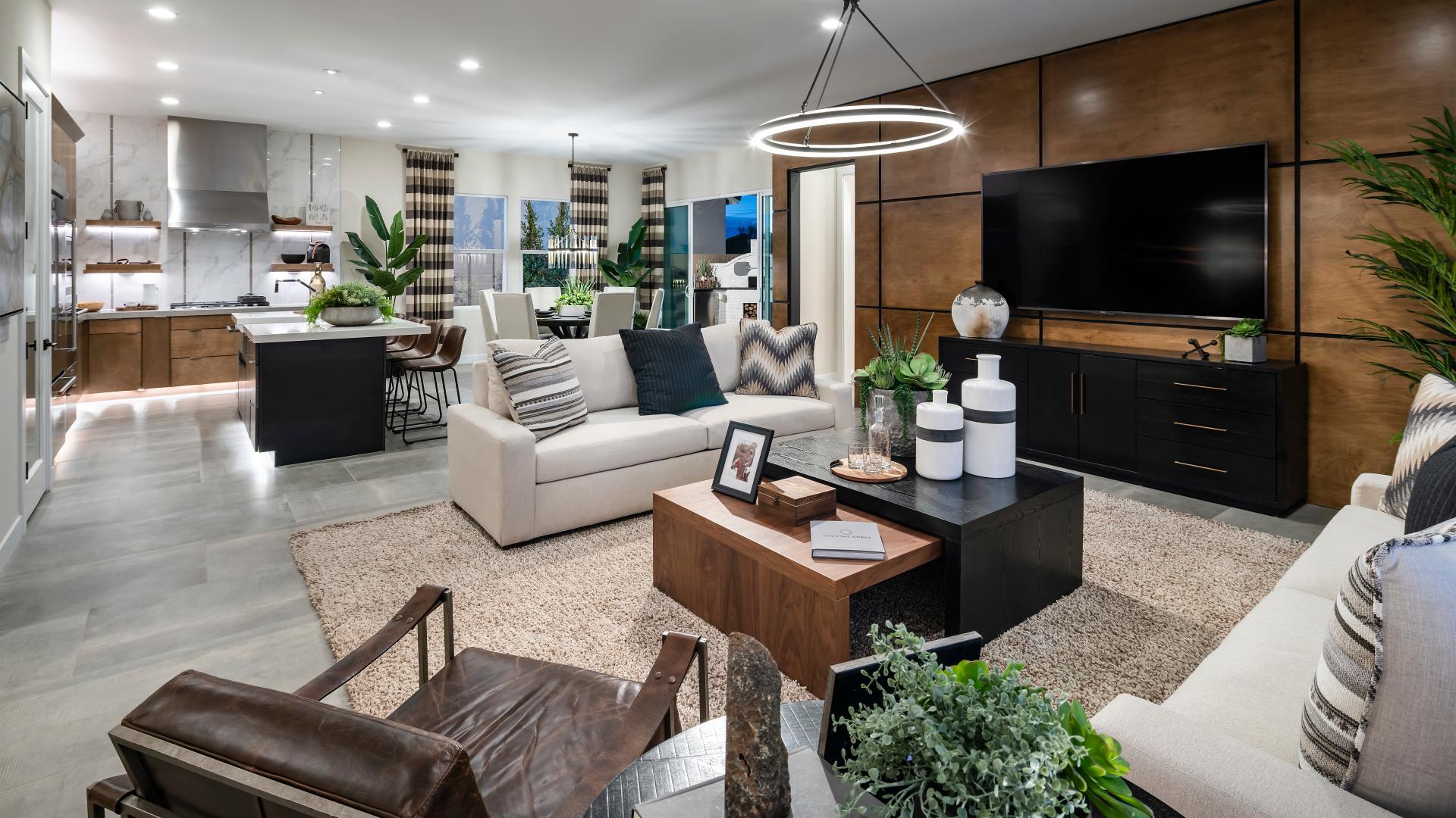 Open-concept great room