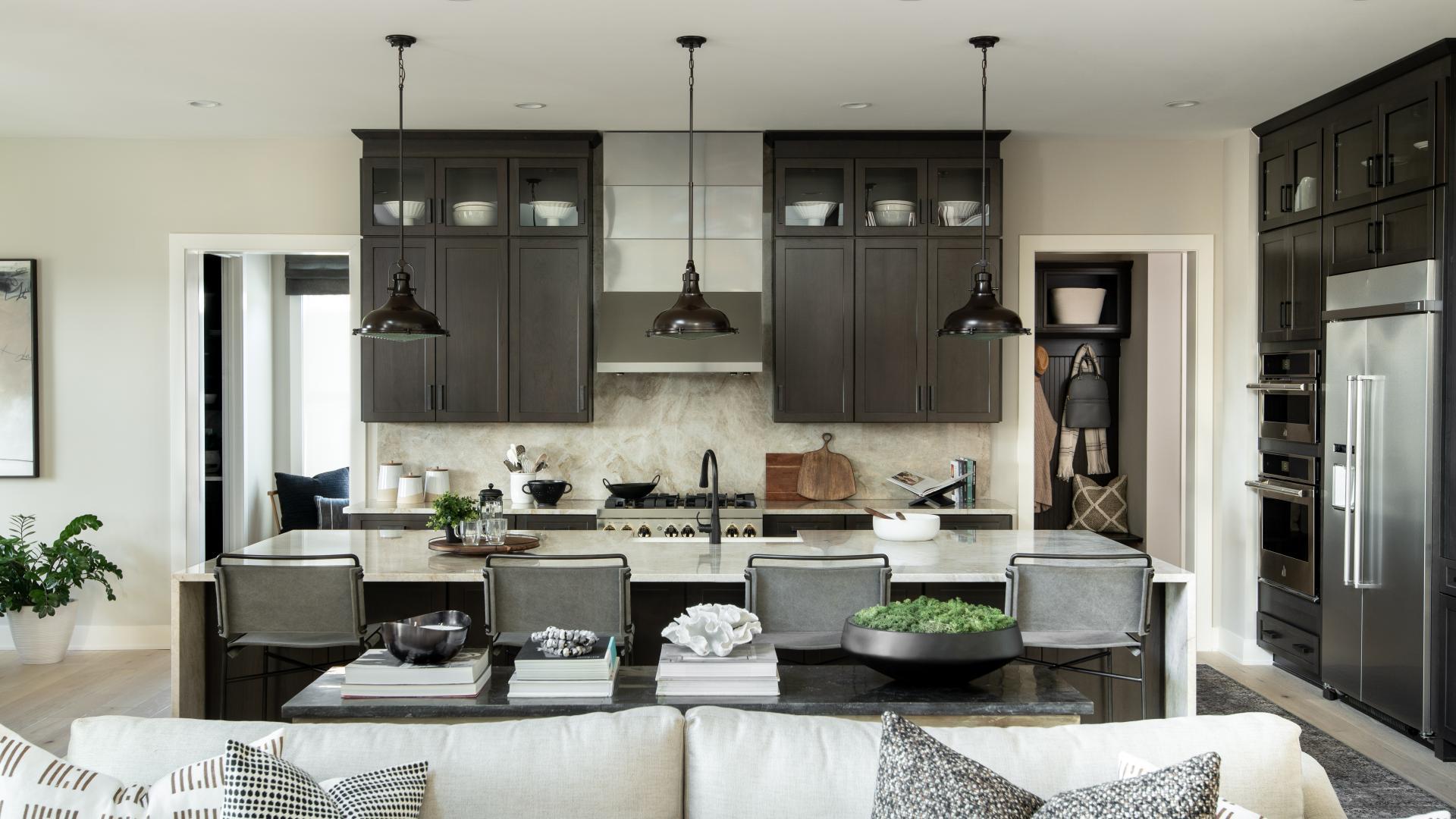 Parkhurst kitchen with expansive island