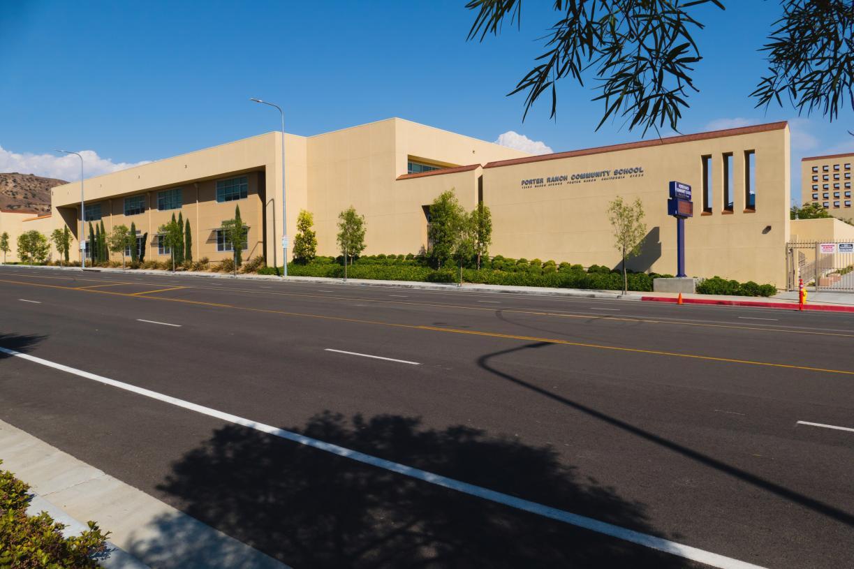 Students will attend Porter Ranch Community School K-8