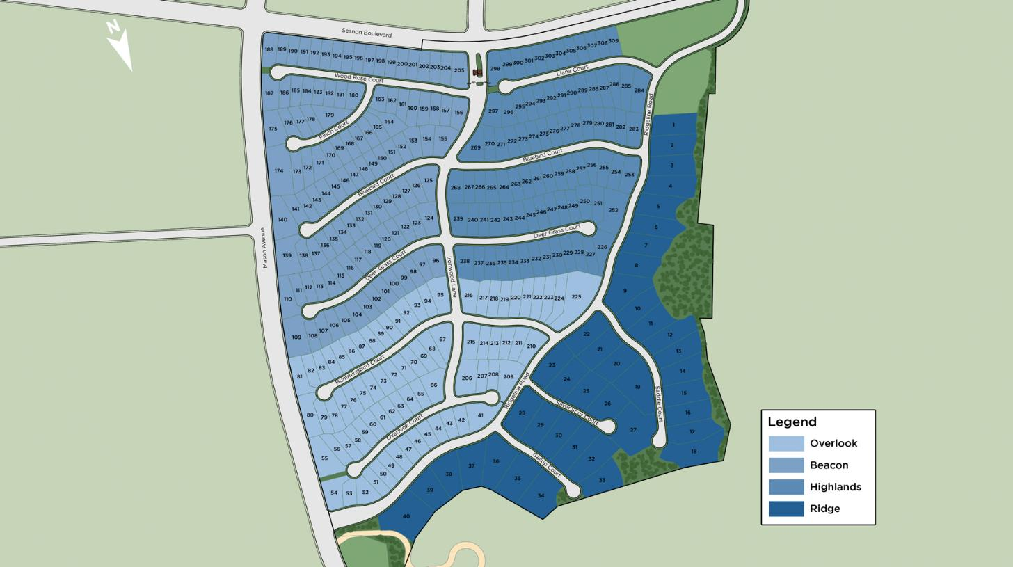 Hillcrest at Porter Ranch Overall Site Plan