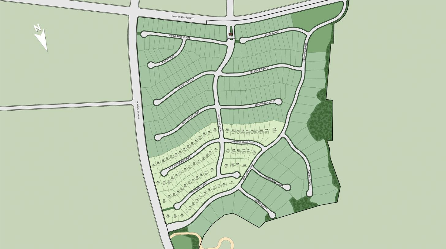Hillcrest at Porter Ranch - Overlook Collection Site Plan