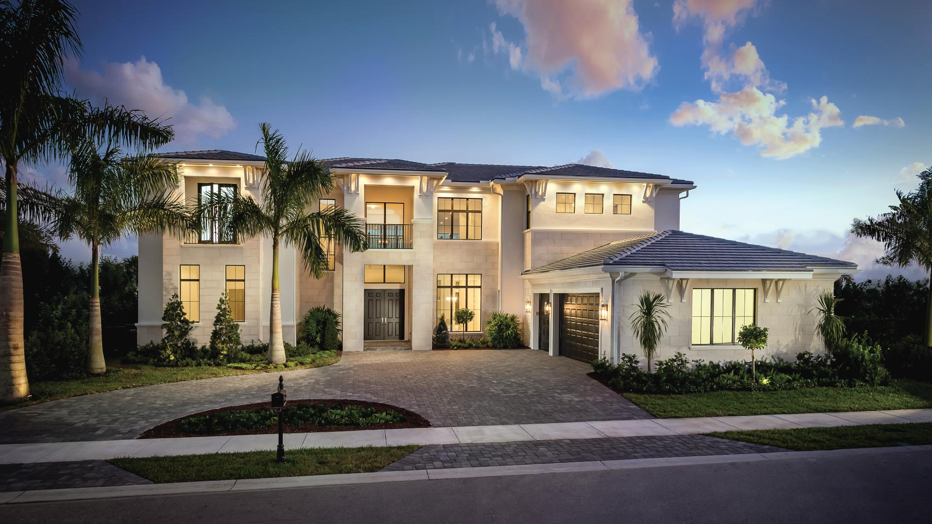 Luxury estate homes on oversized home sites