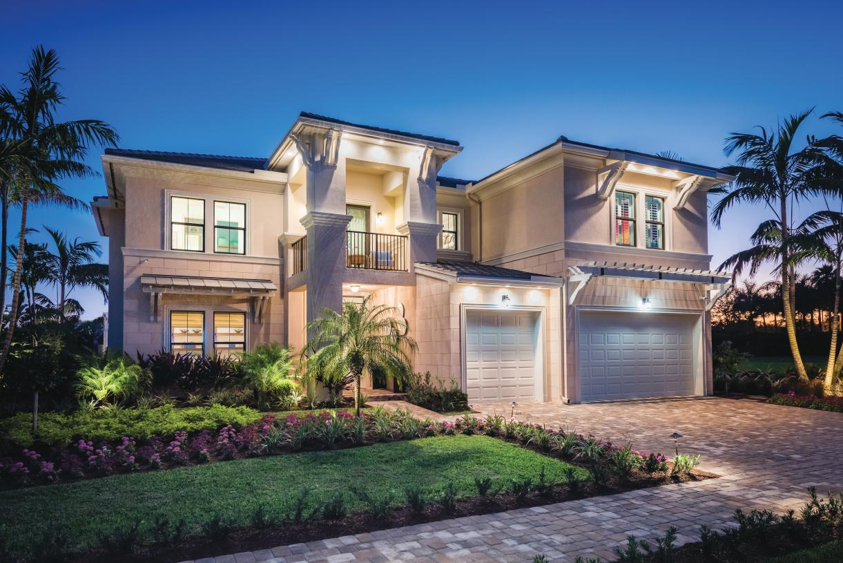 A variety of modern home designs with hundreds of personalization options