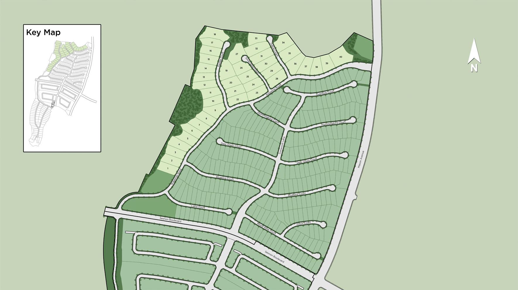 Hillcrest at Porter Ranch - Ridge Collection Site Plan