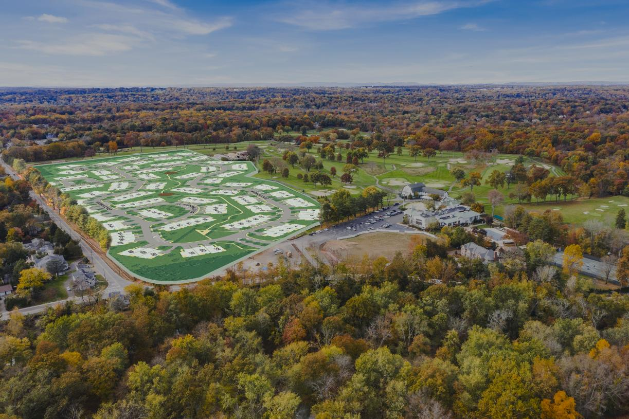 Fantastic views and a location adjacent to the Edgewood Country Club