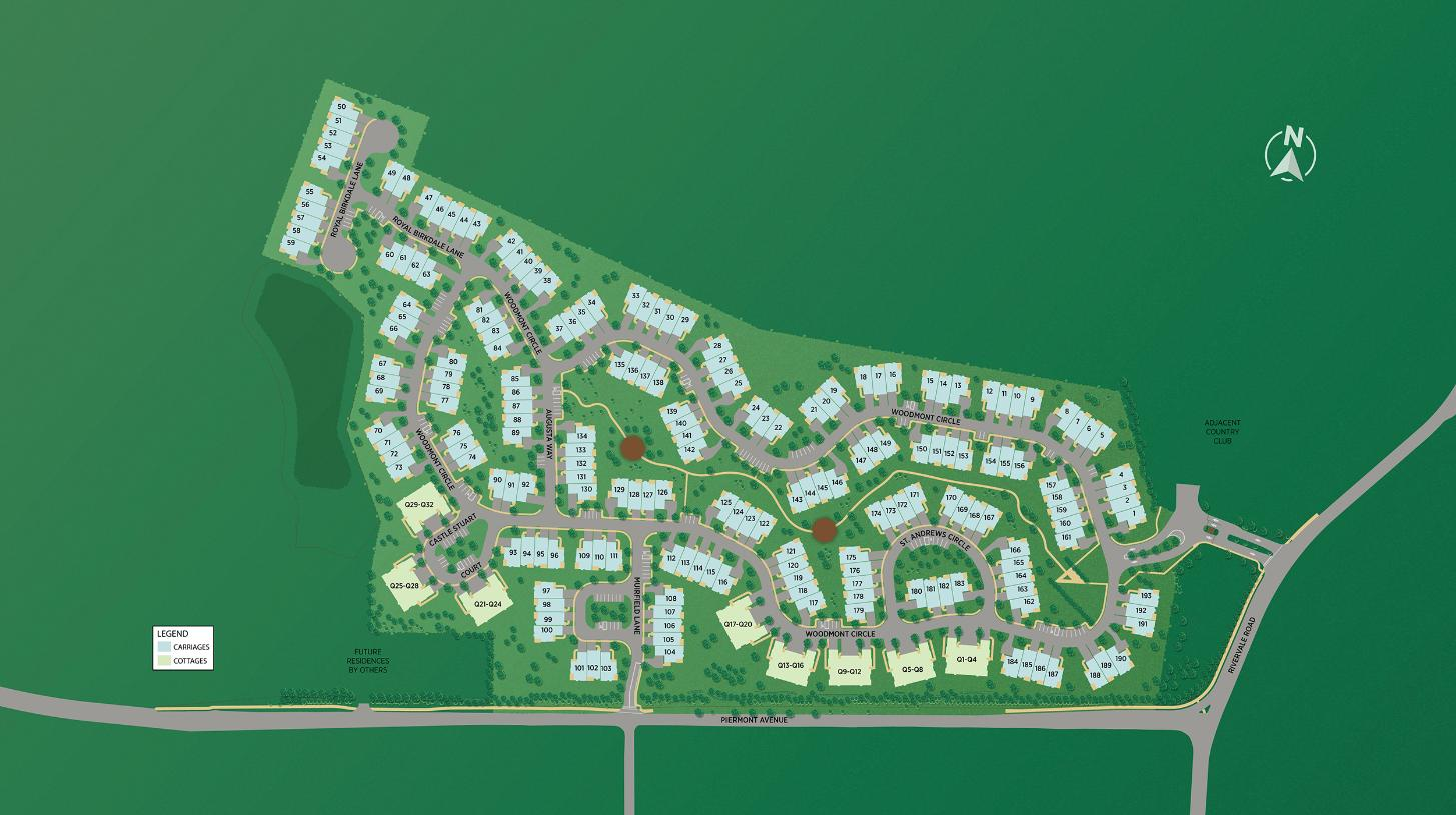 The Fairways at Edgewood Overall Site Plan