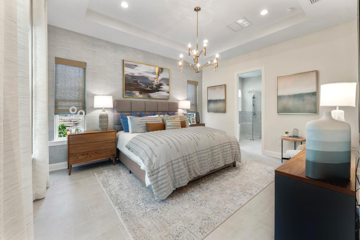 Spacious primary bedrooms