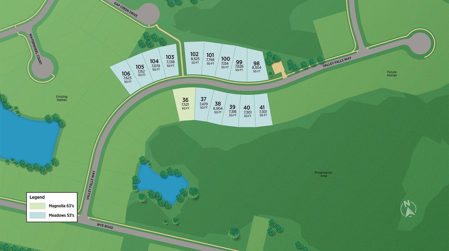 Mill Creek Forest - Meadows Site Plan II