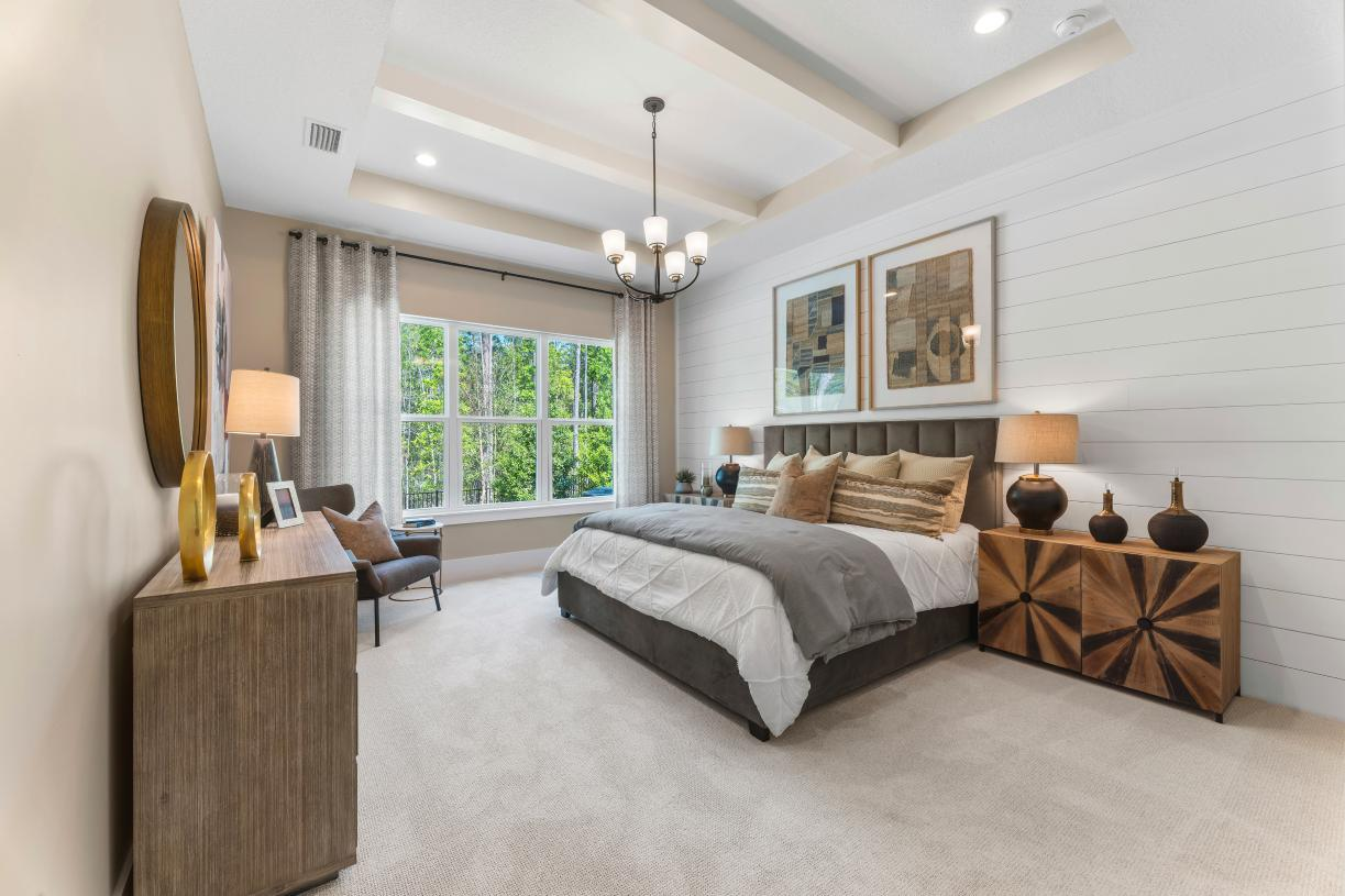 Large primary bedrooms