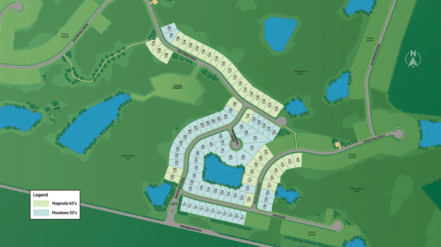 Mill Creek Forest - Magnolia Site Plan