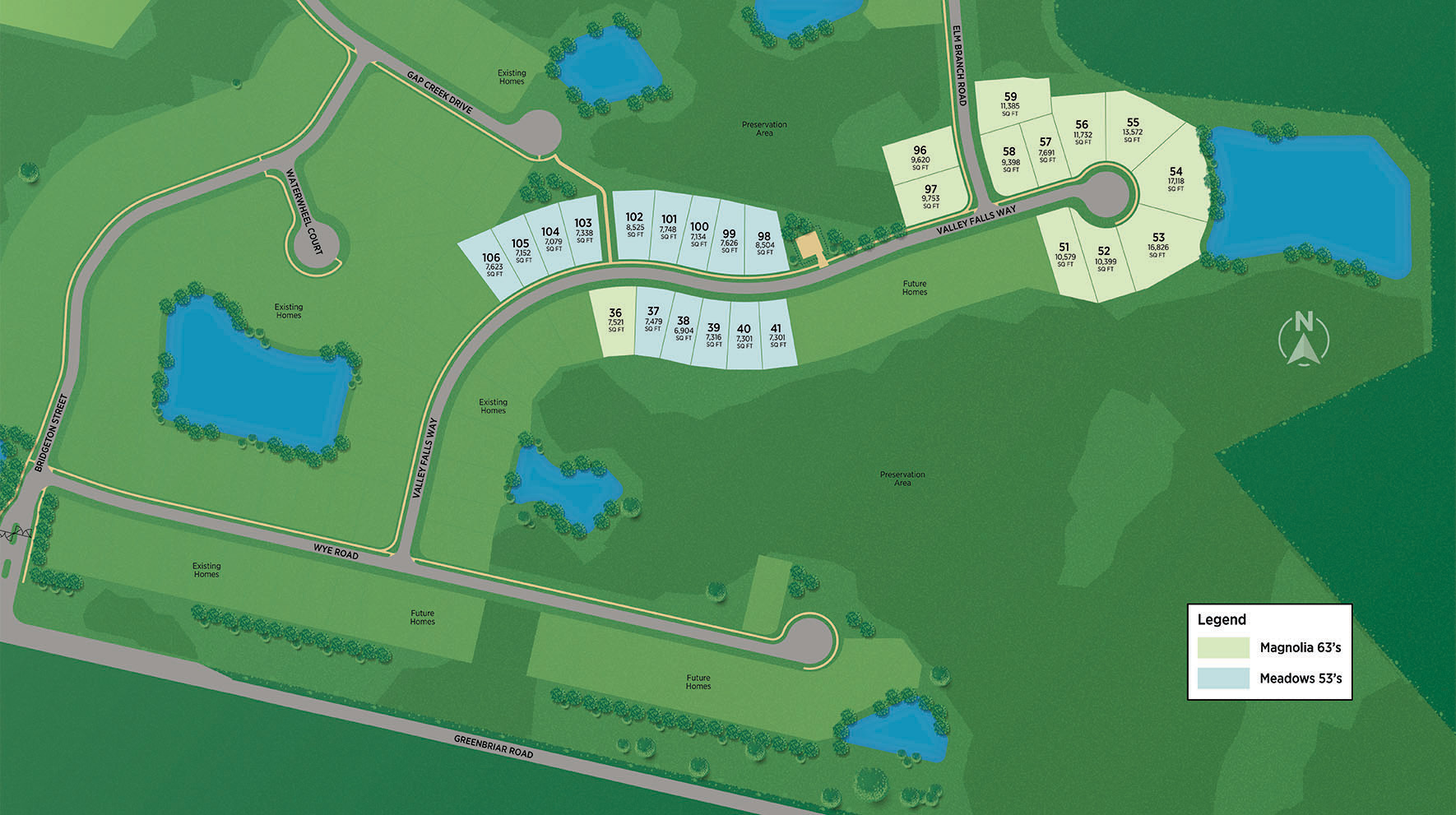 Mill Creek Forest - Magnolia Site Plan II