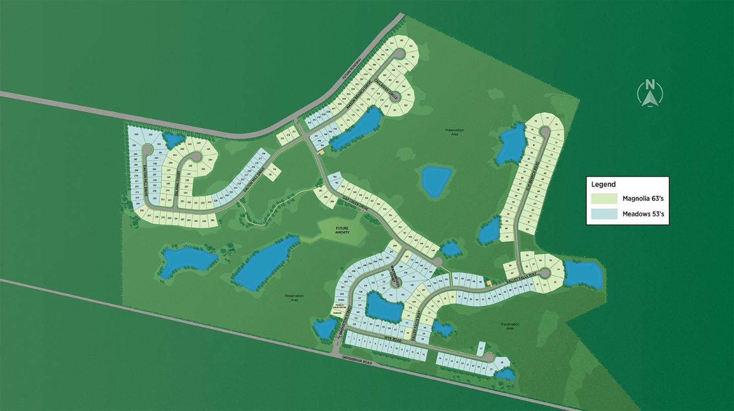 Mill Creek Forest Overall Site Plan