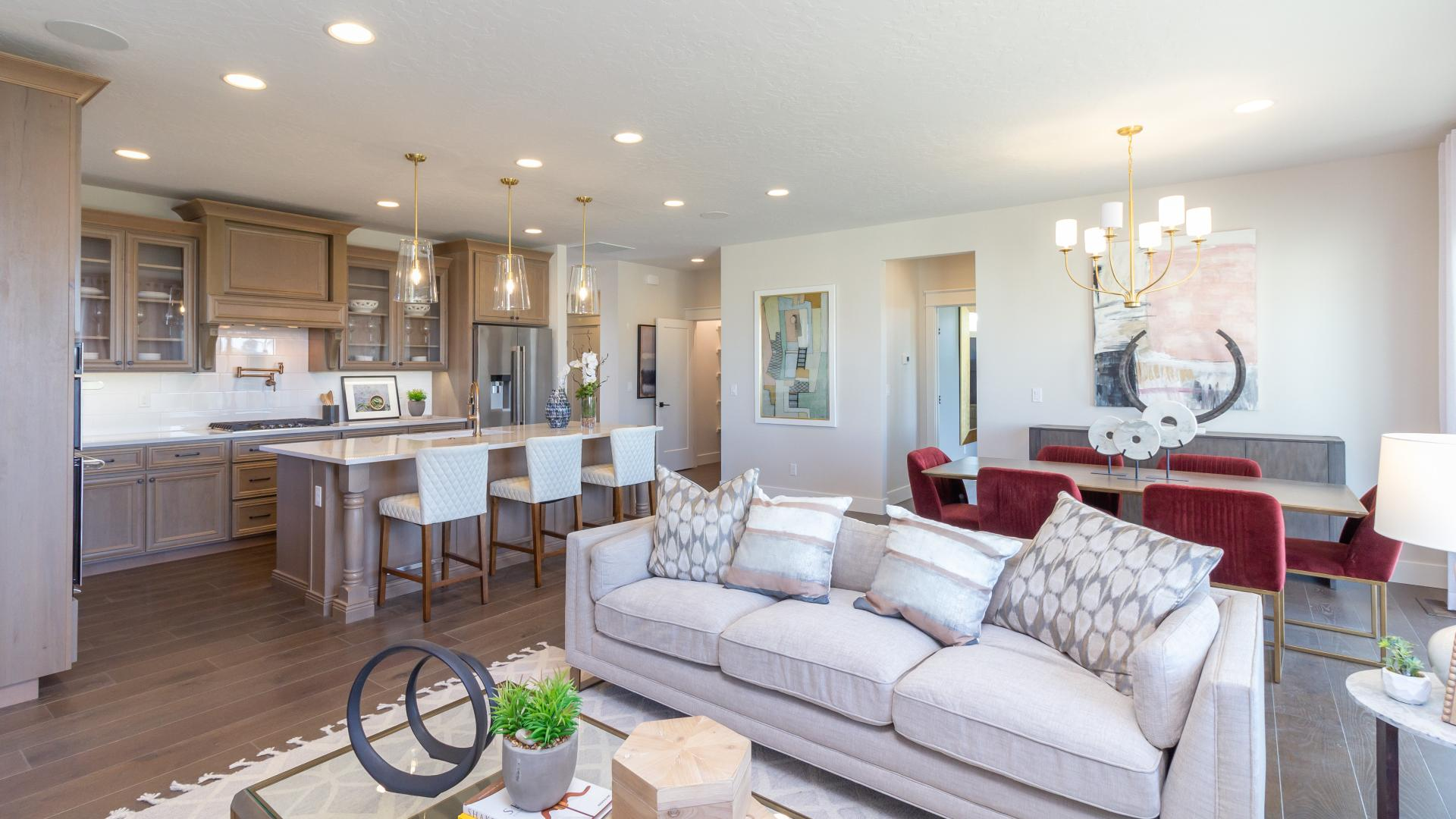 Open, flowing layout ideal for entertaining
