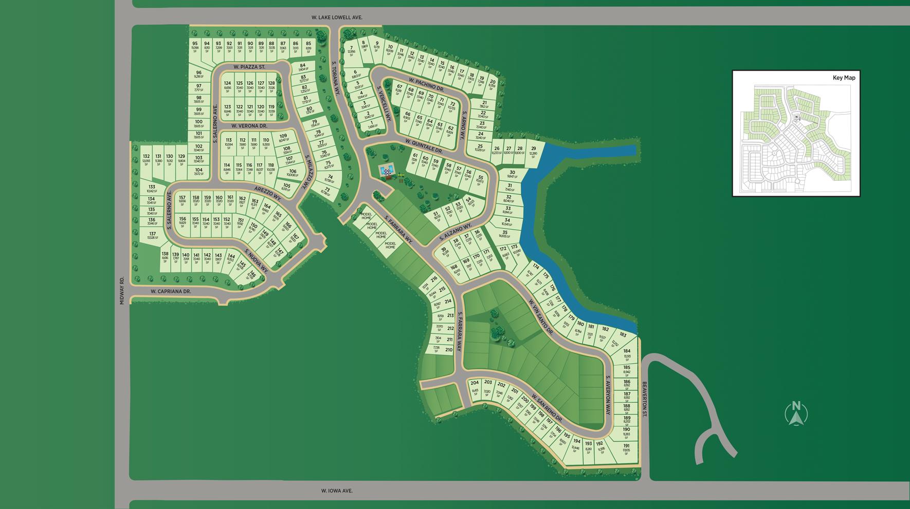 Carriage Hill West - Garden Site Plan