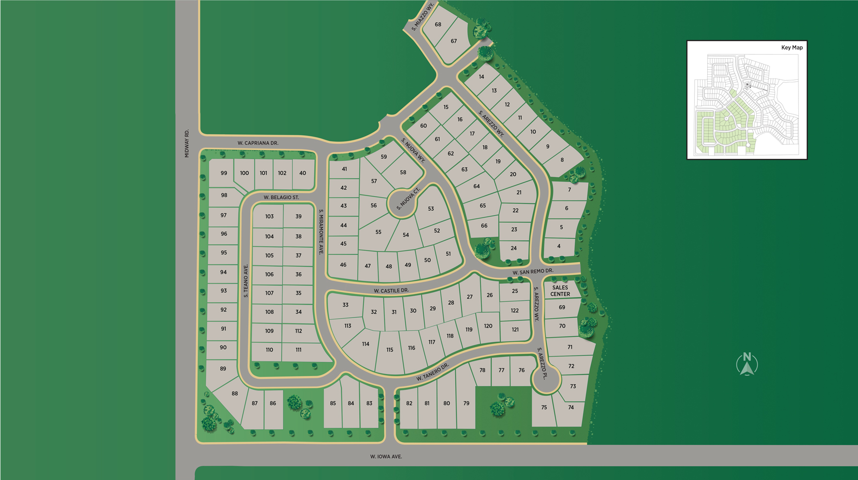 Carriage Hill West - Woodland Site Plan