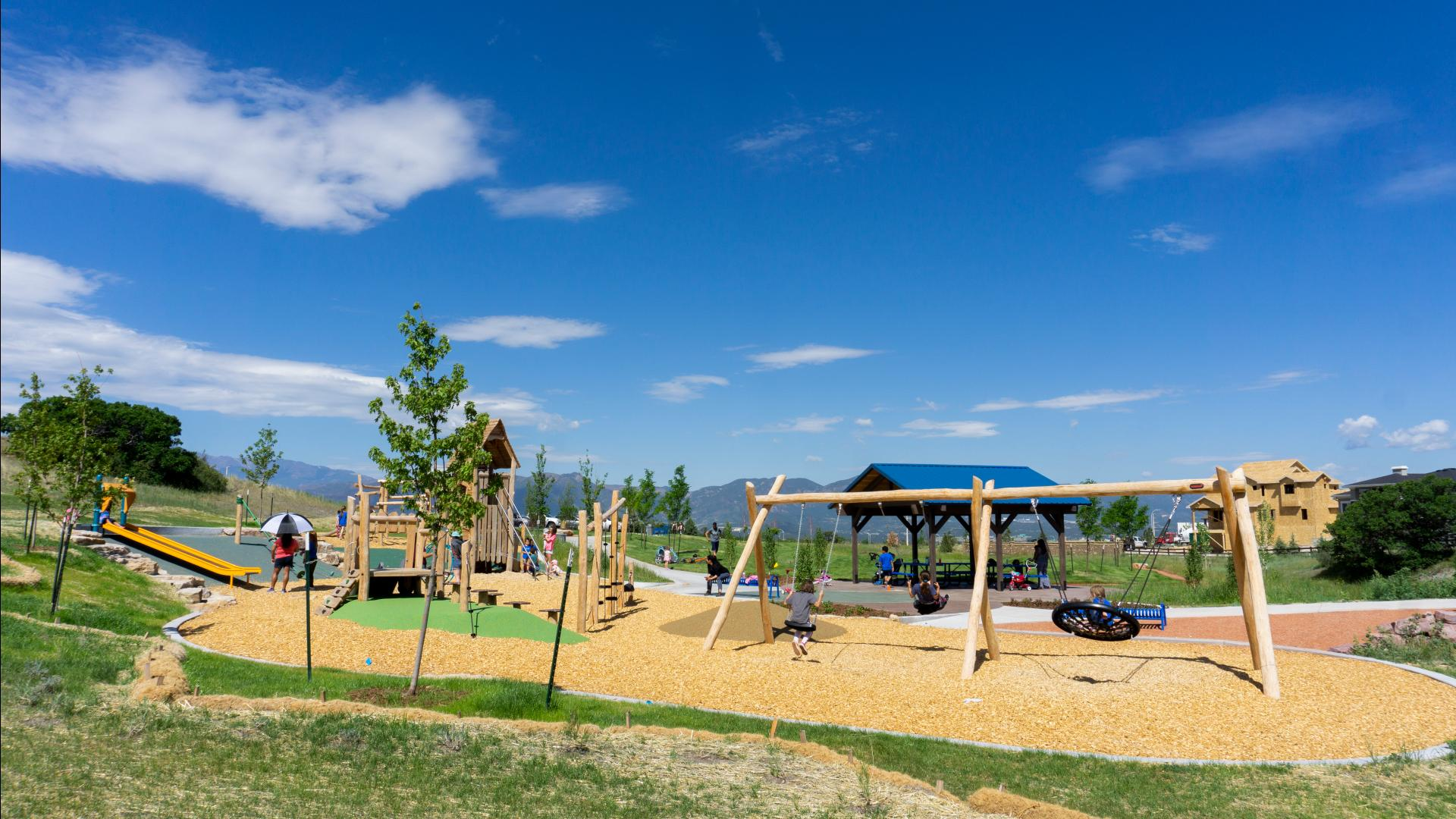 With acres of parks and miles of trails, Cordera offers space to play, exercise or socialize